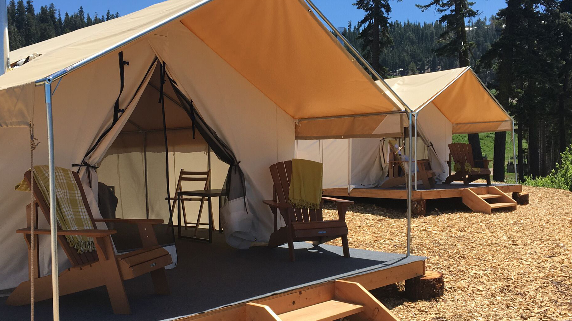Gl&ing FAQ & Glamping Tents - Bear Valley
